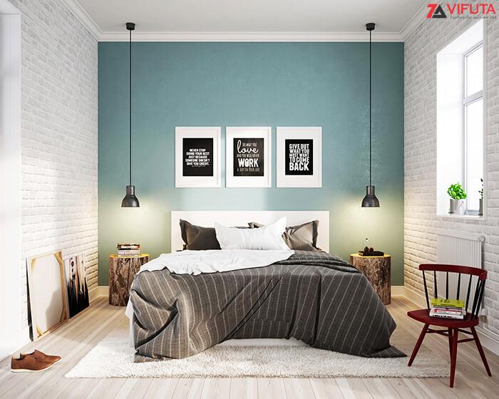 Bố trí nội thất phòng ngủ thông minh theo phong cách Scandinavia Bắc Âu