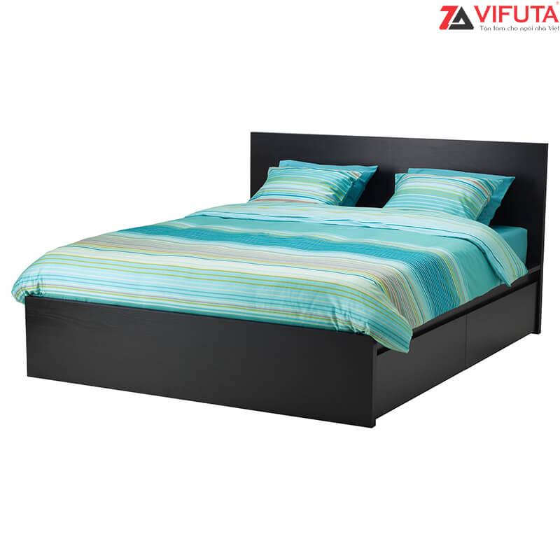 Giường ngủ 1.8m vai cao 2 ngăn kéo 168.18130