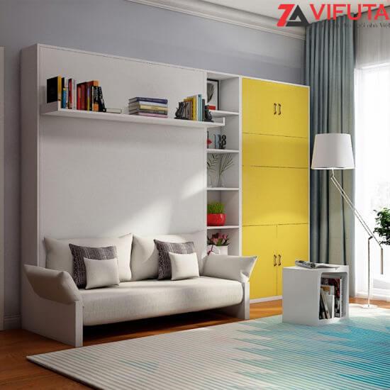 Giường gắn tường kết hợp Sofa phù hợp cho nhiều phong cách thiết kế nội thất khác nhau