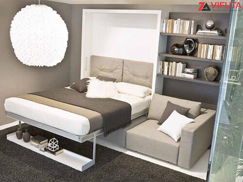 Không nên chọn nội thất thông minh đa năng, kích thước lớn cho các căn phòng quá nhỏ