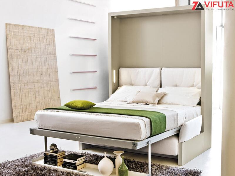 Giường thông minh kết hợp sofa-333.V150SF khi hạ giường xuống