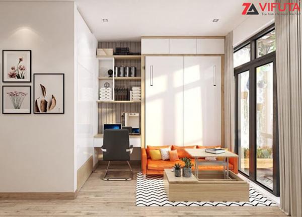 Sản phẩm nội thất thông minh giúp cơi nới không gian cho căn hộ chung cư nhỏ