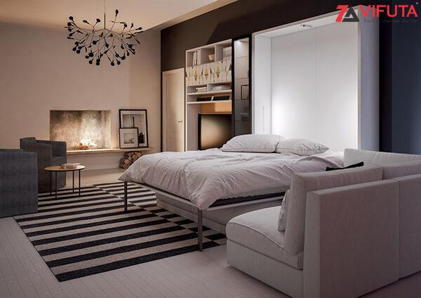 Nội thất thông minh giúp phòng ngủ thêm thoáng đãng, thư giãn