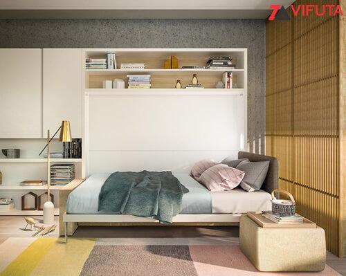 Từ không gian đón tiếp khách khứa bạn dễ dàng chuyển đổi thành nơi nghỉ ngơi