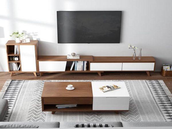 Kệ tivi gỗ phòng khách đẹp sang trọng hiện đại – 556.22290