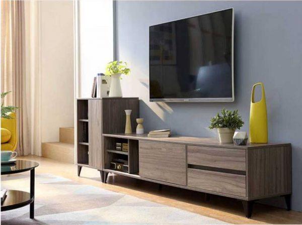 Kệ tivi kết hợp tủ trang trí đẹp hiện đại sang trọng – 556.20210