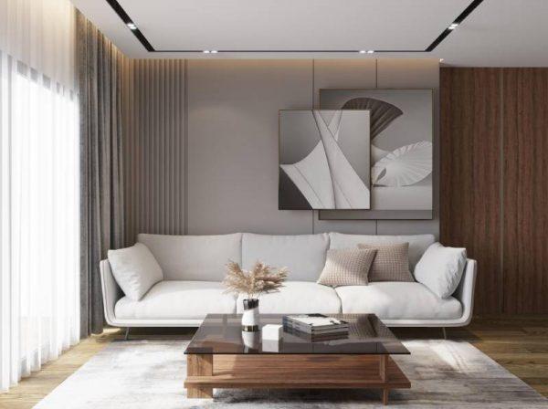 Mẫu bàn trà sofa mặt kính cho phòng khách đẹp – 554.09203