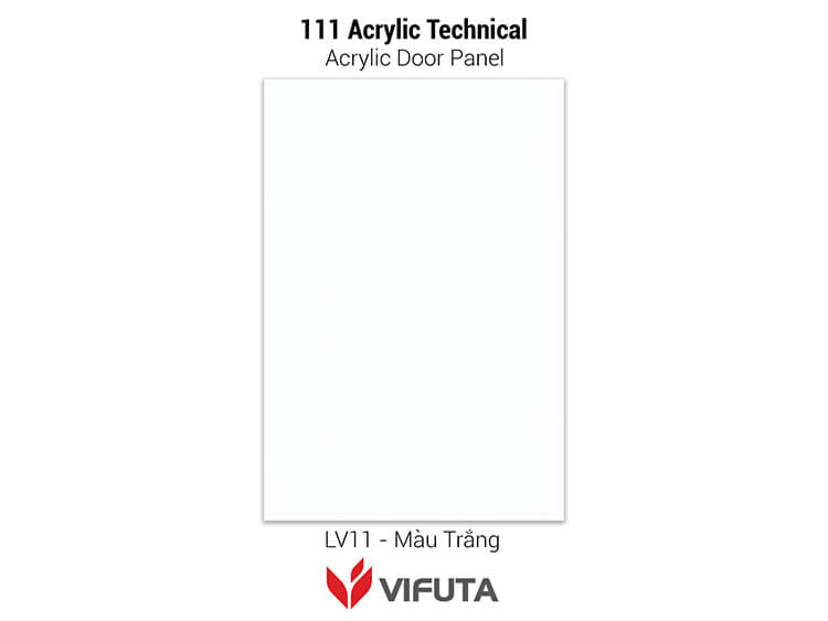 Cánh tủ bếp gỗ Acrylic đẹp 111Acrylic Tech - LV11