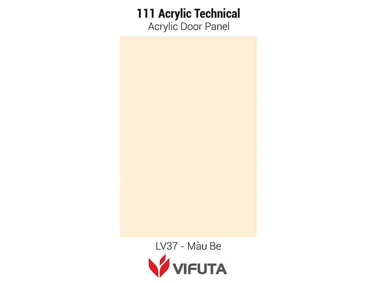 Cánh tủ bếp hiện đại cho gia đình 111Acrylic Tech - LV37