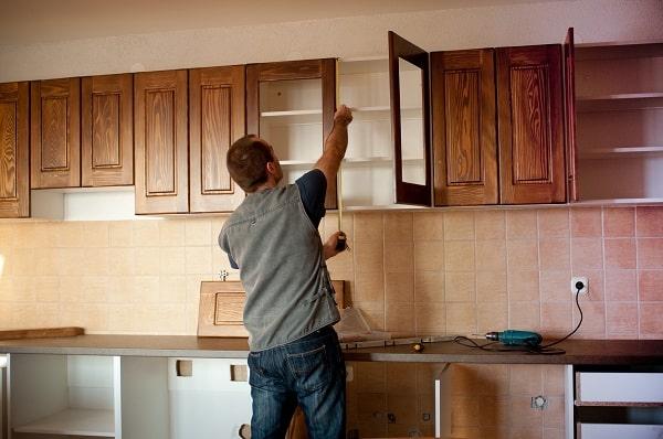 Sửa chữa tủ bếp tại nhà quận Ba Đình