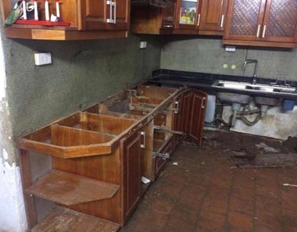 Sửa chữa tủ bếp tại Thanh Xuân