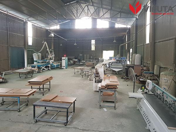 Xưởng sản xuất tủ bếp Vifuta